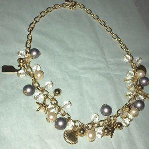 Vineyard Vines seashells charm sea pearl necklace